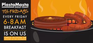 TGI-Friday BBQ @ PlastaMasta Gold Coast