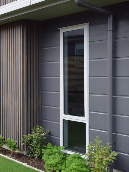 Scyon Stria 255mm Splayed Fibre Cement Cladding by James Hardie