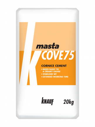 MastaCove75 Cornice Cement Plaster Compound Knauf