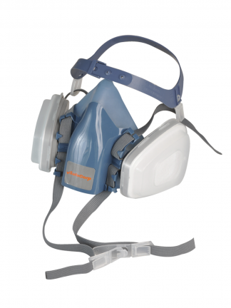 Dust Mask Half Face Respirator P2 Cartridges SafeCorp