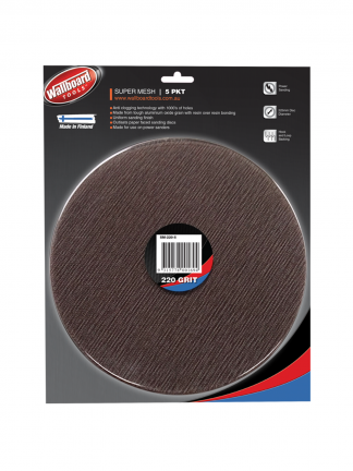 Mesh Sanding Discs Super Mesh Wallboard Tools