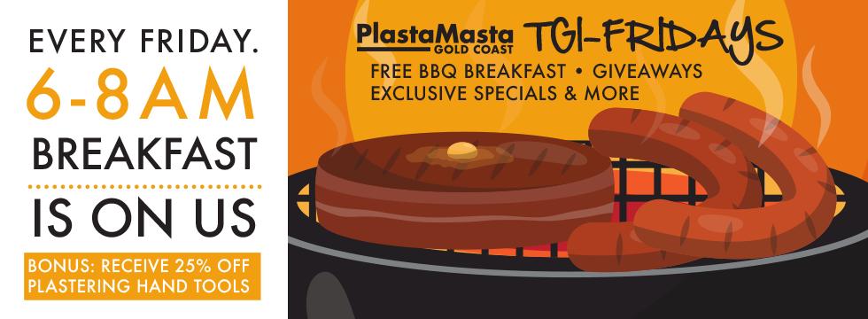 TGI-Fridays at PlastaMasta Gold Coast