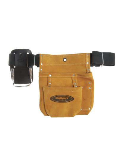 2 Pocket Plastering Nail & Tool Bag Wallboard Tools