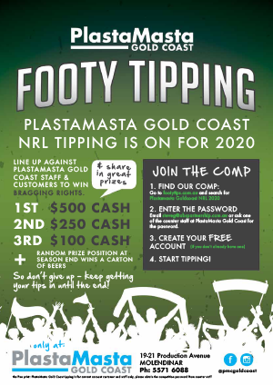 Get tipping with PlastaMasta Gold Coast
