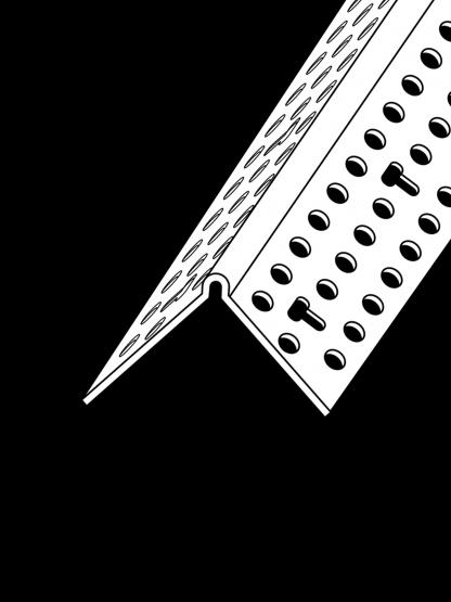 90º Corner Bead PVC (Trim-Tex)