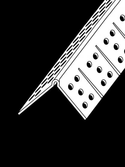 90º Archway Corner Bead PVC (Trim-Tex