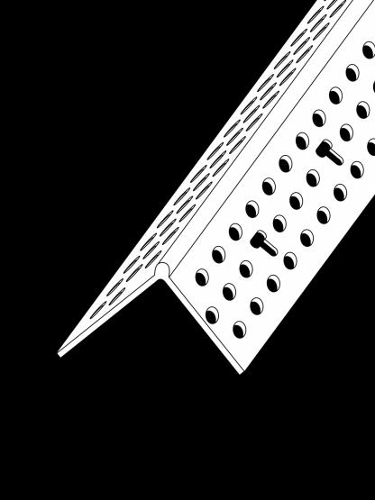 90º Slimline Corner Bead PVC (Trim-Tex)