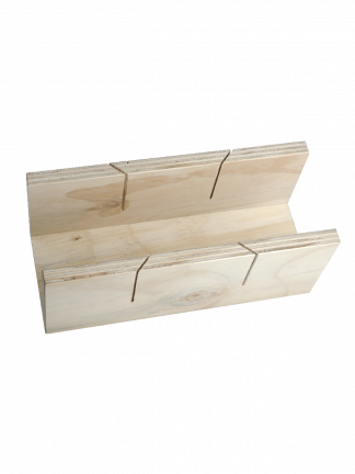 Timber Mitre Box Single Cut for Cornice (Wallboard Tools)