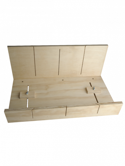 Timber Mitre Box Adjustable for Cornice (Wallboard Tools)