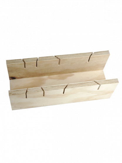 Timber Mitre Box Dual Cut for Cornice (Wallboard Tools)