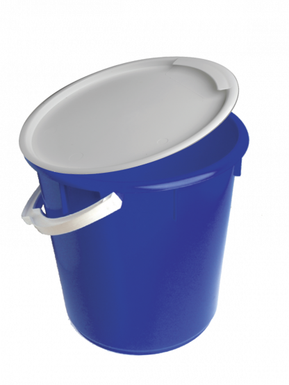 Bucket Large 20L Hard Plastic with Lid (Wallboard Tools)