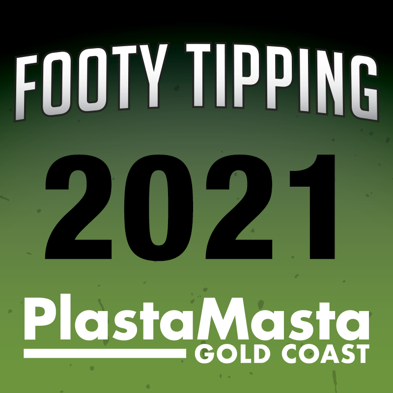 PlastaMasta Gold Coast 2021 NRL Footy Tipping Competition