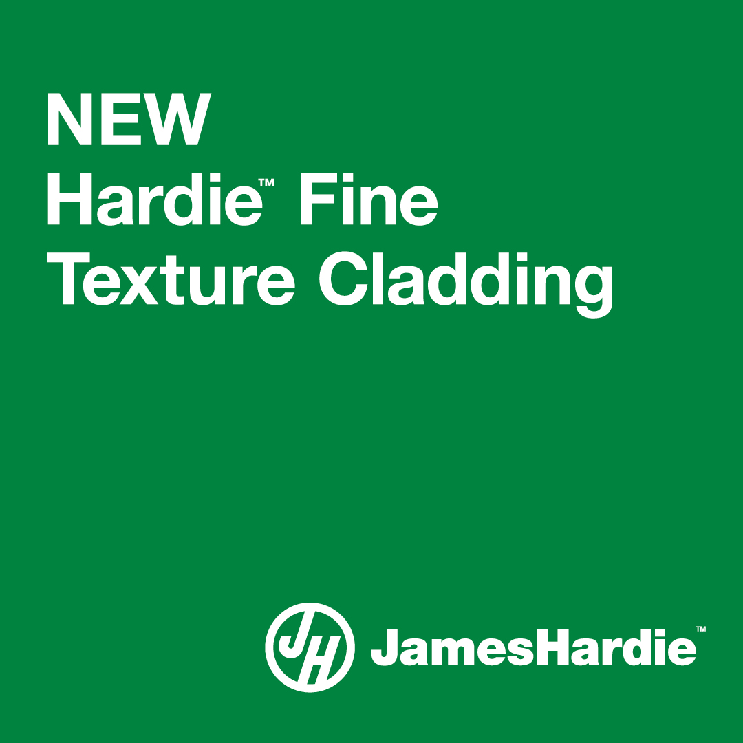 Introducing Hardie Fine Texture Cladding from James Hardie